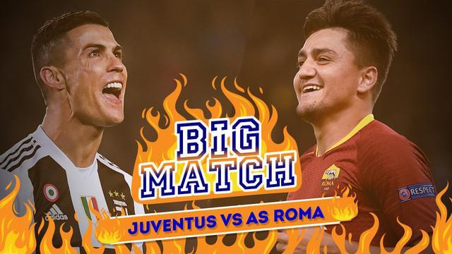 Juventus akan menghadapi AS Roma pada Minggu (23/12/2018) dinihari WIB dalam lanjutan Serie A pekan ke-17.