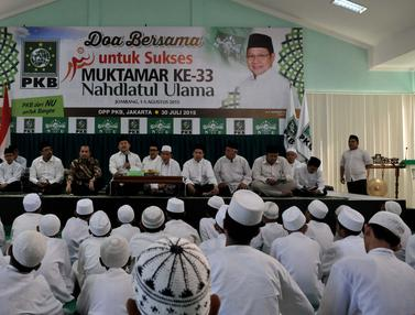 20150730- PKB Gelar Doa Bersama Jelang Muktamar NU ke-33-Jakarta