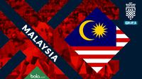 Piala AFF 2018 Timnas Malaysia (Bola.com/Adreanus Titus)