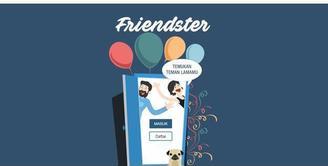 Media Sosial Friendster yang tenar di awal tahun 2000-an hidup lagi. Kini Friendster sepertinya dikelola developer asal Indonesia, tampilannya nyaris mirip facebook. Buat kamu yang ingin nostalgia bisa mengaksesnya di friendster.id