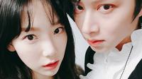 Kim Heechul dan Taeyeon SNSD (Instagram/ kimheenim)