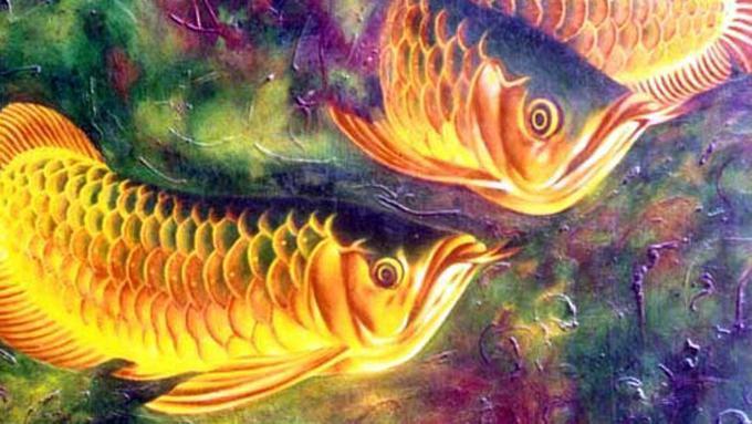 Download 66 Gambar Ikan Koi Lukisan Terpopuler