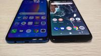Huawei Nova 3i dan Xiaomi Mi A2(Www.sulawesita.com)