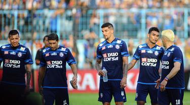 Arema FC di Piala Presiden 2017 (Liputan6.com / Rana Adwa)
