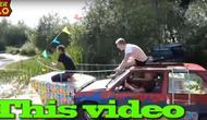 Pakai Kotak Jus, Pria Ini Ubah Renault 5 Jadi Mobil Amfibi (Foto: Motor1)