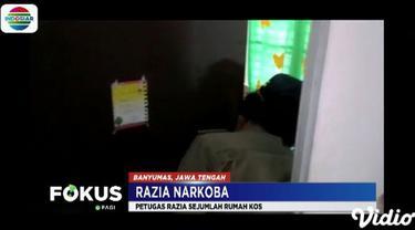 Razia narkoba ini sengaja dilakukan di beberapa rumah kost wanita pekerja malam atau wanita pemandu lagu yang berada di wilayah Purwokerto, Banyumas.