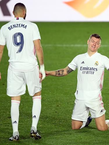 Gelandang Real Madrid, Toni Kroos.