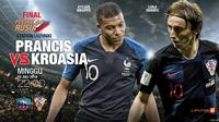 Prancis vs Kroasia (Liputan6.com/Abdillah)