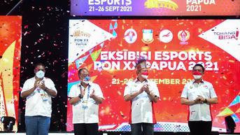 Eksibisi Esports PON XX Sukses, Atlet Indonesia Diharapkan Semakin Berprestasi