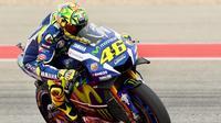 Valentino Rossi mengakui crash yang dialaminya pada lap ketiga MotoGP Austin murni akibat kesalahannya sendiri.