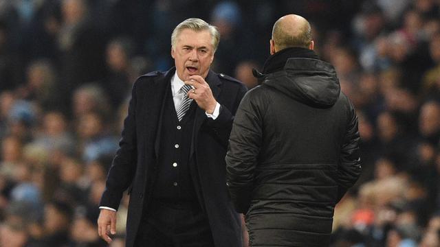 Carlo Ancelotti dan Pep Guardiola