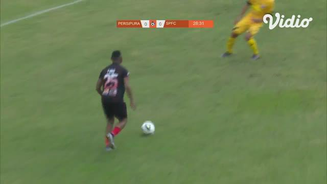 Laga lanjutan Shopee Liga 1,  Persipura  vs Semen Padang  berakhir imbang 1-1  #shopeeliga1  #Persipura #semenpadang