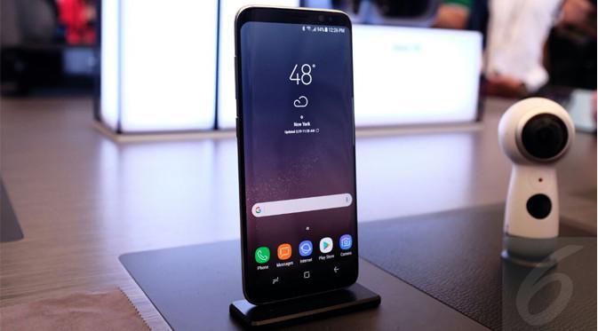 Samsung Galaxy S8. Liputan6.com/Iskandar