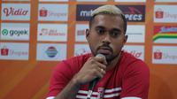 Samuel Riemas bertekad membuat Arema FC mandul saat berhadapan dengan Bali United. (Bola.com/Iwan Setiawan)