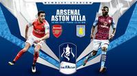 Prediksi Arsenal vs Aston Villa (Liputan6.com/Yoshiro)