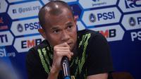 Kapten Persib Supardi Nasir optimis Maung Bandung dapat lolos ke semi final Piala Indonesia. (Huyogo Simbolon)