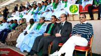 Karena bosan dengan pertandingan bola yang sedang disaksikannya, presiden negara ini meminta diadakan adu penalti.