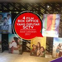 SCTV siap menghadirkan film-film box office tanah air spesial lebaran.