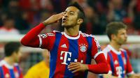 Gelandang Bayern Muenchen, Thiago Alcantara (Reuters/Kai Pfaffenbach)