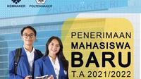 Polteknaker Buka Penerimaan Mahasiswa Baru 2021/2022