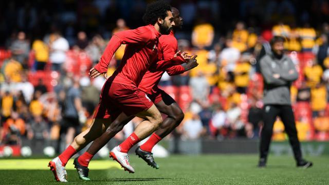 Sadio Mane dan Mohamed Salah, Liverpool