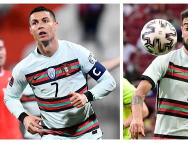 Foto Piala Eropa: 5 Pilar Penting Timnas Portugal, Termasuk Cristiano Ronaldo untuk Pertahankan Gelar di Euro 2020