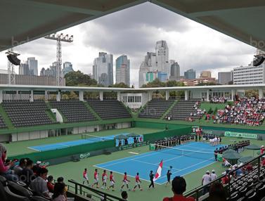 Piala Davis 2018, Tenis Indonesia, Tenis Filipina