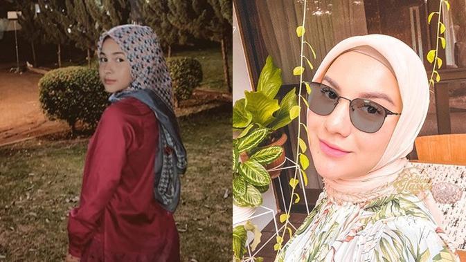 6 Potret Sandrinna Michelle Pakai Hijab Disebut Mirip Irish Bella Hot Liputan6 Com