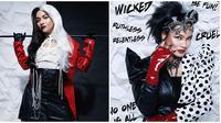 Pemotretan Selebriti karakter Cruella (Sumber: Instagram/wanda_haraa)