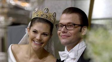 Putri Mahkota Victoria dan Daniel Westling