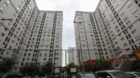 Kondisi Apartemen Kalibata City pasca-terkuaknya kasus prostitusi online di lingkungan tersebut., Jakarta, Senin (27/4/2015). Polda Metro Jaya berhasil mengungkap prostitusi online yang melibatkan anak di bawah umur. (Liputan6.com/Faizal Fanani)