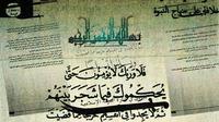 Terungkap Dokumen Rencana ISIS Bangun Negara, berjudul 'Prinsip-prinsip Administrasi Negara Islam,' (The Guardian)