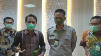 Ketua IDI Daeng Muhammad Faqih bersama Kepala Badan Penelitian dan Pengembangan Pertanian (Balitbangtan) Kementan Fadjry Djufry.