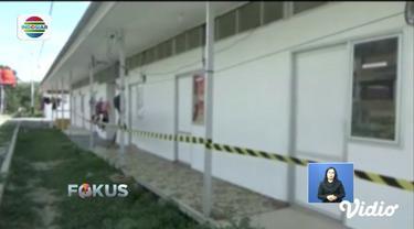 Hunian sementara bagi korban gempa Palu disegel pihak kontraktor, karena diduga belum dibayarkan pengerjaannya.