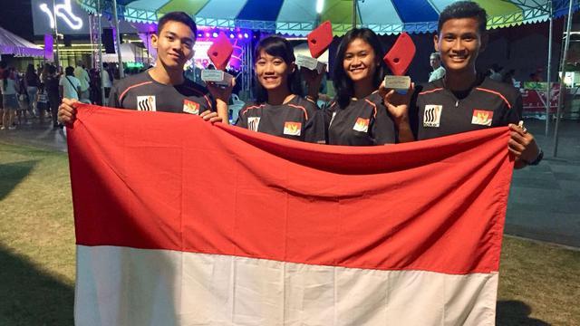 Asian Games 2018 Atlet Panjat Tebing Rebut Emas Di Filipina Asian Games Liputan6 Com