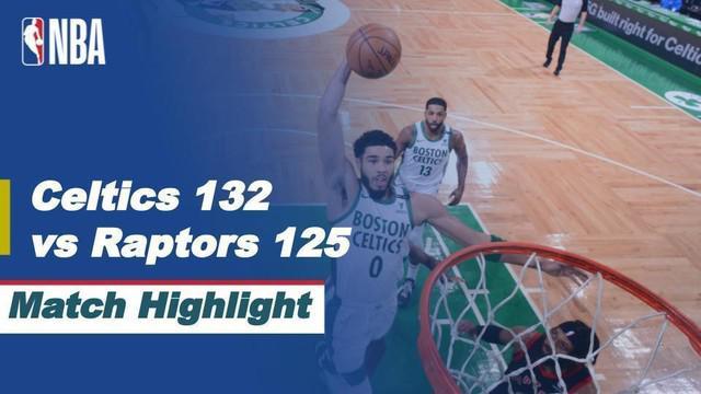 Berita Video Highlights NBA, Boston Celtics Menang Dramatis Saat Melawan Toronto Raptors (5/3/2021)