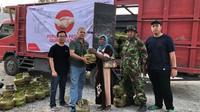 Pasokan LPG tiba, Pertamina Operasi Pasar Elpiji 3 Kg di Donggala dan Sigi. (foto: Pertamina)