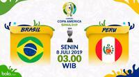 Copa America 2019 - Brasil Vs Peru (Bola.com/Adreanus Titus)