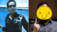 Mantan vokalis band The Fly, Bjah, kini penampilannya berbeda 180 derajat. (Sumber: Kapanlagi)