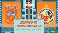 Shopee Liga 1 - Borneo FC Vs Semen Padang FC (Bola.com/Adreanus Titus)