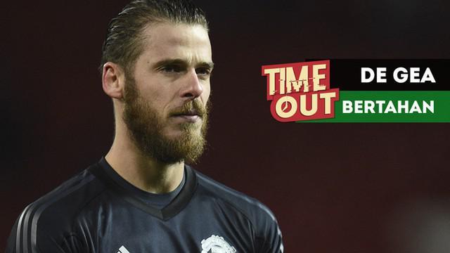 Berita video Time Out kali ini tentang alasan-alasan David de Gea akan bertahan di Manchester United.