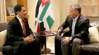 Kepala BNPT Suhardi Alius bertemu dengan Raja Yordania Abdullah II pada Sabtu 4 November 2017 di Amman (sumber: BNPT)