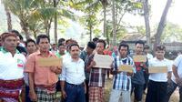 Bantuan pemerintah senilai Rp 50 miliar kepada para nelayan penangkap benih lobster berupa paket pembudidayaan ikan. (Liputan6.com/Hans Bahanan).