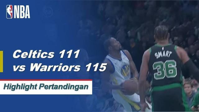 Kevin Durant, Stephen Curry dan Klay Thompson semua skor 20+ poin sebagai Warriors memenangkan 10 mereka berturut-turut.