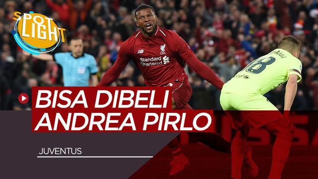 Berita video spotlight Pemain yang Berpotensi didatangkan Andrea Pirlo ke Juventus, ada Georginio Wijnaldum
