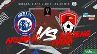 Piala Presiden Arema FC Vs Kalteng Putra (Bola.com/Adreanus Titus)