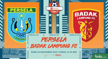 Persela Lamongan Vs Badak Lampung FC