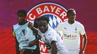 Bayern Munchen - Lucien Agoume, Eduardo Camavinga, Denis Zakaria (Bola.com/Adreanus Titus)