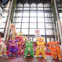 Parade Barongsai rayakan Tahun Baru Imlek di K11 MUSEA Hong Kong