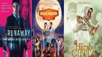 Momen libur Lebaran tahun ini ada 5 film: Hijrah Cinta, Bajaj Bajuri The Movie, Runaway, Seputih Cinta  Melati, dan Kamar 207.